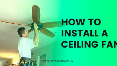 Photo of How to Install A Ceiling Fan