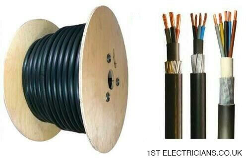 armoured cable sizes 1st electricians
