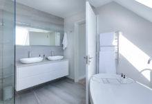 Photo of Bathroom lighting zones