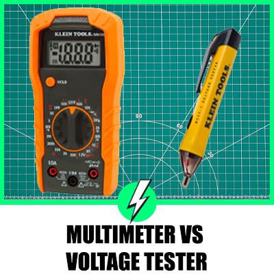Multimeter Vs Voltage Tester